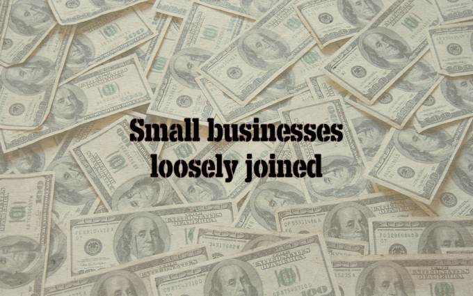 Small businesses, loosely joined